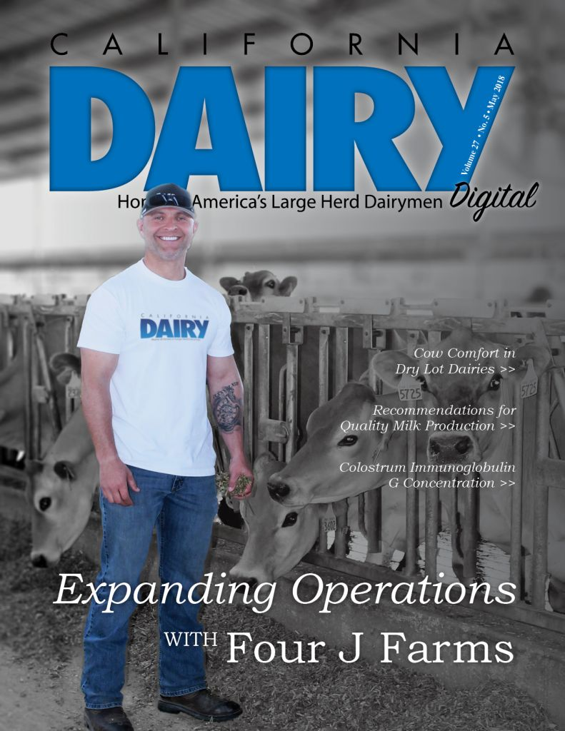 California Dairy Magazine May 2018 Issue