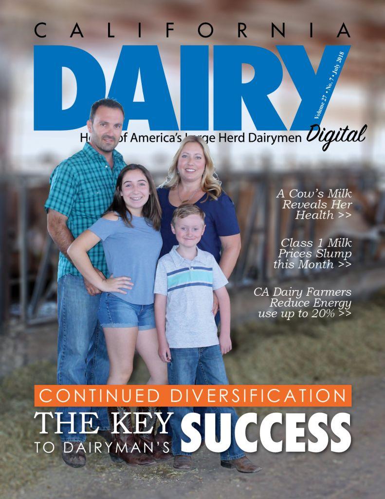 California Dairy Magazine July 2018 Issue