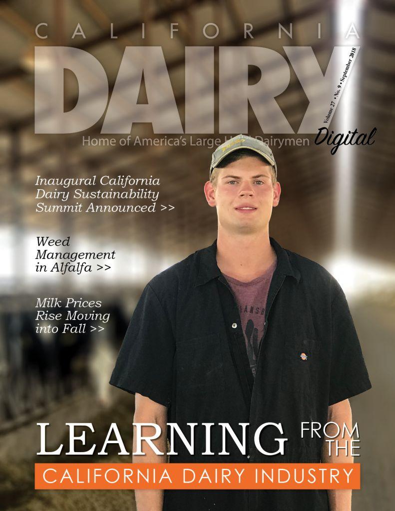 California Dairy Magazine September 2018 Issue